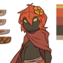 autumn plant girl by kmau