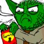 Yoda wants some peanuts