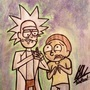 R&M: Time Traveling Pals by GabrielNovakStudios