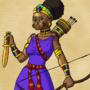 Cleopatra Concept Art by BrandonP