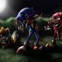 Horror The Hedgehog by MaxRH