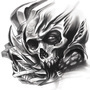Biomech Skull by Zae1X