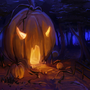 Home of the Pumpkin Wizard by BaukjeSpirit