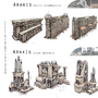 Arakis city sketches 3