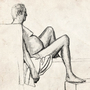 Nude dude by freezwalm