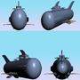 Battle Sub U-842 by PoeitWarrior