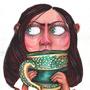Self Portrait by odditiesbyangela