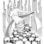 Skull lady by FASSLAYER