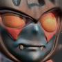 Devilman Bust by crashadams