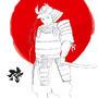 The Samurai by Dastrox