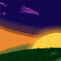 Panorama: Sunset by solidpawn