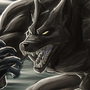 Wolfman vs. Werewolf by henlp