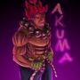 Serious Akuma by IceBurger