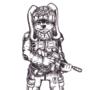 Battle Bunny Doodle by FLASHYANIMATION