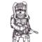 Battle Bunny Doodle