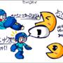 Mega Man's Pac Pellets by GamerBlueX
