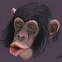 Chimpanzee by brettamatowski