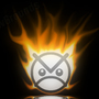 Burning Angry Face by Breaking-Moon