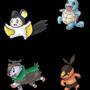 Pokemon Set by IceBurger