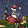Santa Villain Robot