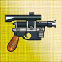 DL-44 Heavy Blaster by JacquesDodoBird