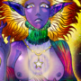 Celestial Goddess by doublemaximus