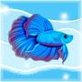 Kawaii Betta fishy by KaPika735
