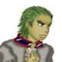 Green Hair Man