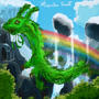 Forest dragon by Xesenix