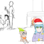 Peeve on every Christmas Eve. by MchectorII