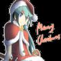 Merry Christmas from Miku by dominiichan