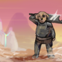 Sword Dog by FLASHYANIMATION