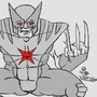 Dark Wolverine Doodle by AnthonyDavila