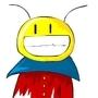 Smiley Alien Ant by Cyberdevil