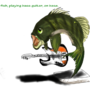 Bass Fish by GravesTail09