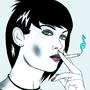 Cigarette Girl #17