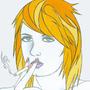 Cigarette Girl #19
