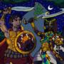 Gaythelos and Scota by BrandonP