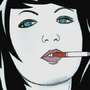 Cigarette Girl #20 by Crystalspike