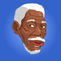 Morgan Freeman by TheIYouMe