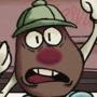 Mr.Potato head in trouble by joecruely