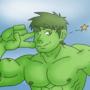 Hulk Cute Selfie by AniLover16