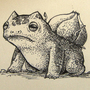#001_Bulbasaur by Manguinha