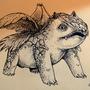 #002_Ivysaur by Manguinha