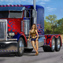 Sarah and Optimus Prime by billtheartist