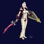 Lightning Final Fantasy FanArt by billtheartist