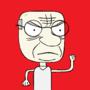 Grumpy Old Man by SantaStark