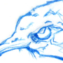 Barn Swallow Pencil Sketch by Melangle