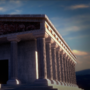greek temple by Nasenbaerr