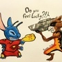 Stitch vs Rocket! by ultimatejulio